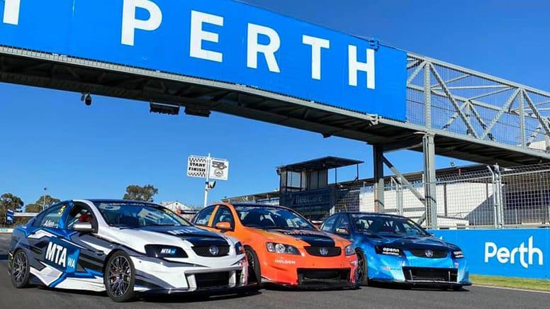 V8 Race Car Drive, 6 Laps - Perth