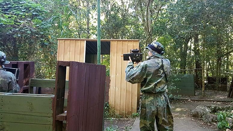 Home Delivered Laser Tag – Play Battle Royale – Greater Brisbane – For 8