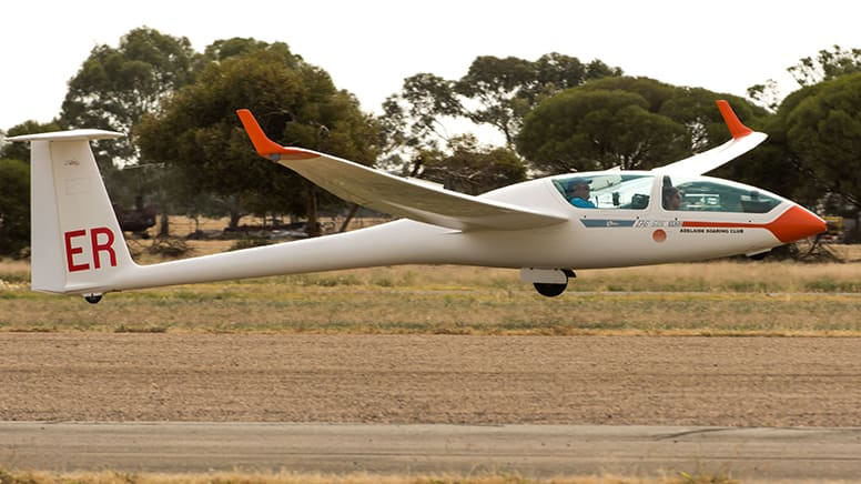 Gliding Introductory Flight, 3000ft - Adelaide