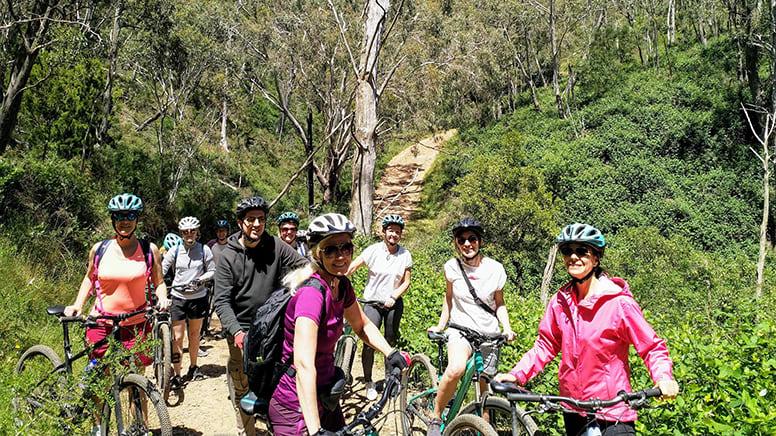 Mount Lofty Mountain Bike Descent Tour - Adelaide