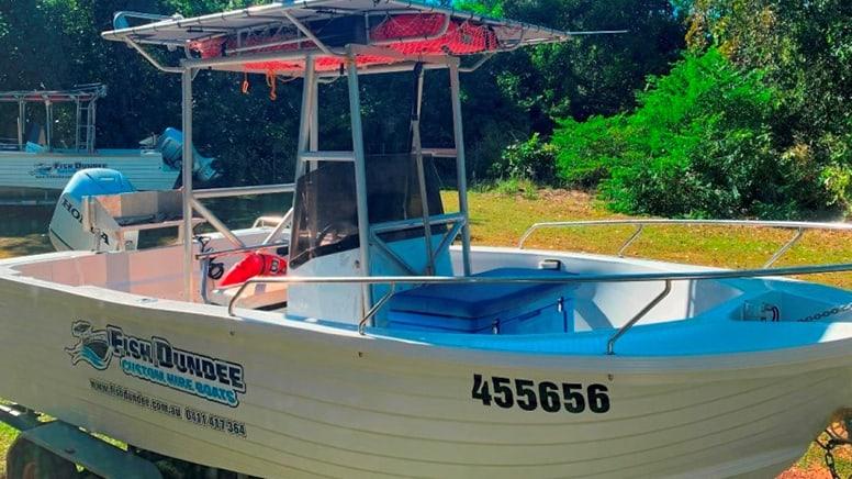 Fishing Boat Full Day Hire – Dundee Beach, Darwin