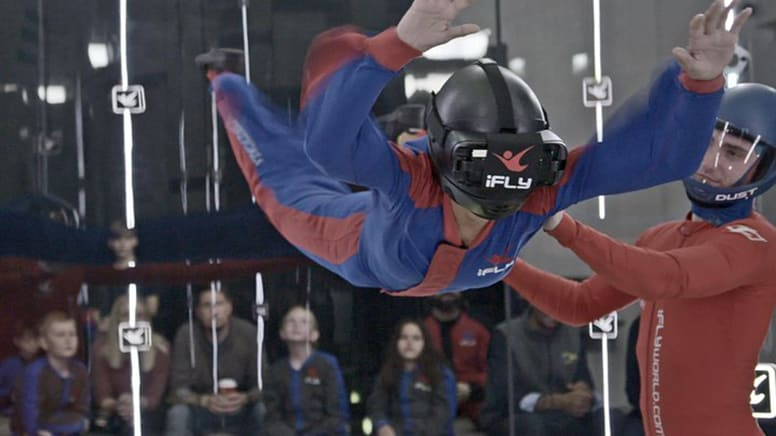 iFLY Indoor Skydiving With Virtual Reality, 3 Weekend Flights - Perth