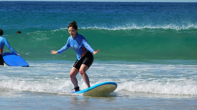 Private Surfing Lesson with Transfers, 2 Hours - Gold Coast - For 4