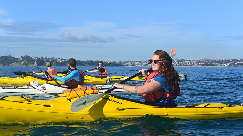 Kayak & Hiking Tour to Rangitoto Island, 6 Hours - Auckland