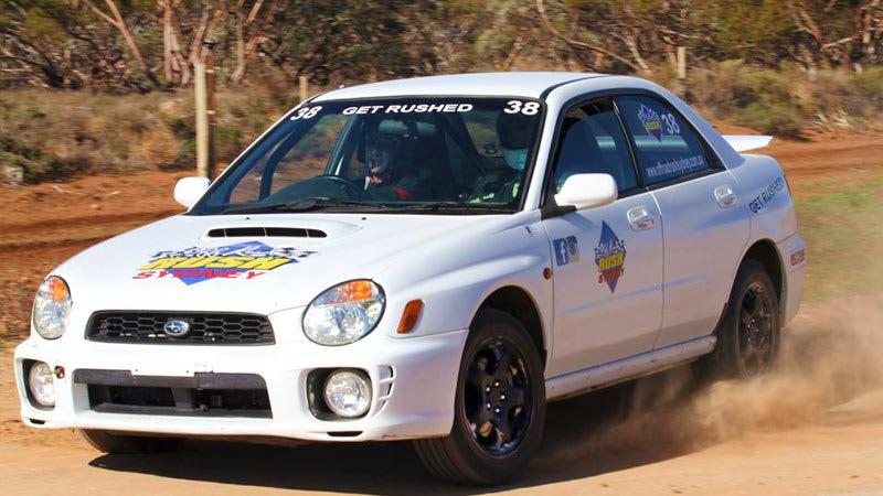 Subaru WRX Rally Driving, 8 Lap Drive & 1 Hot Lap - Willowbank Brisbane