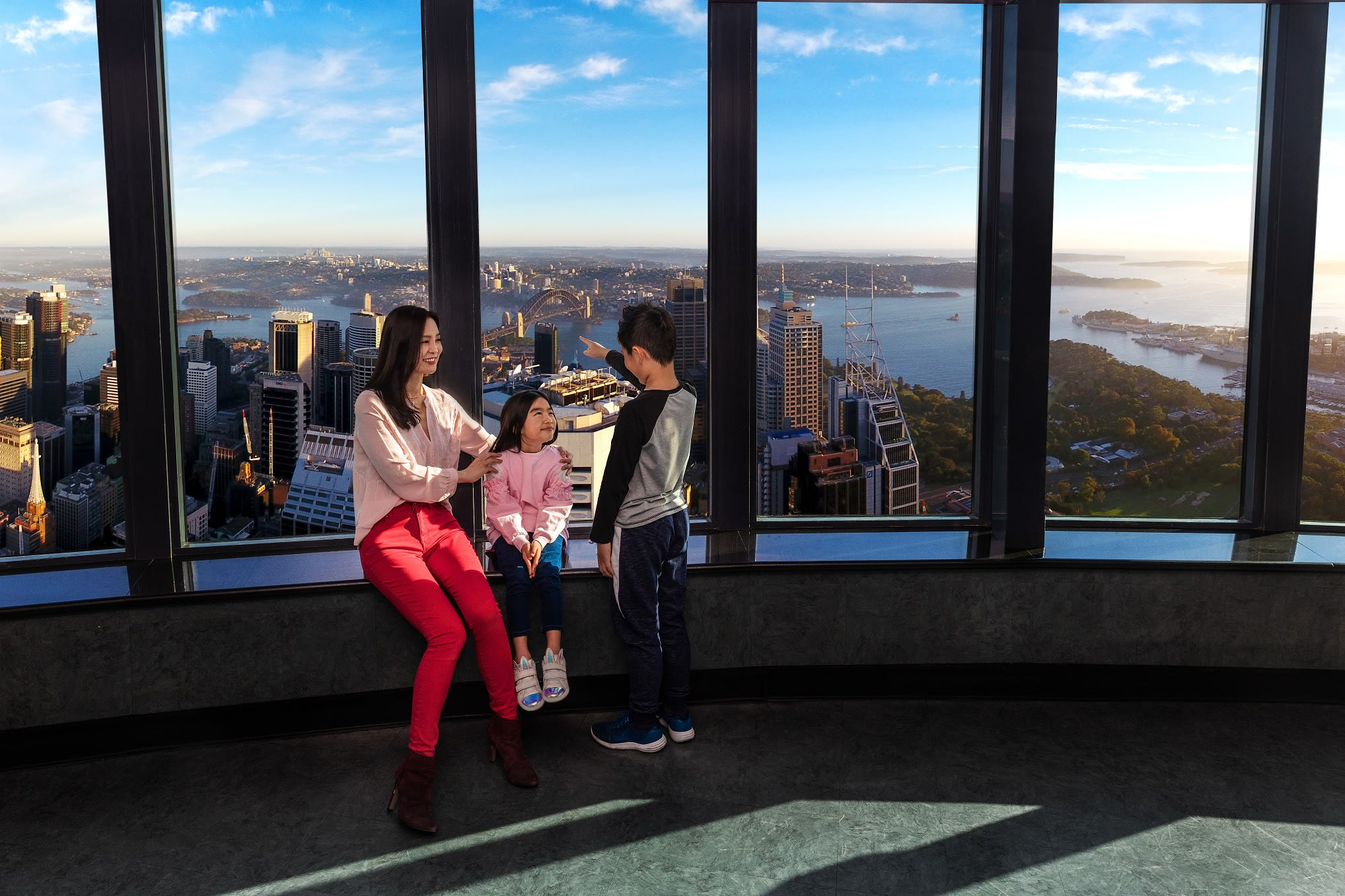 Sydney Tower Eye Observation Deck