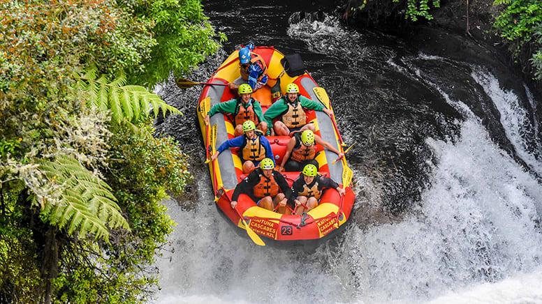 White Water Rafting, Grade 5 - Wairoa River, New Zealand