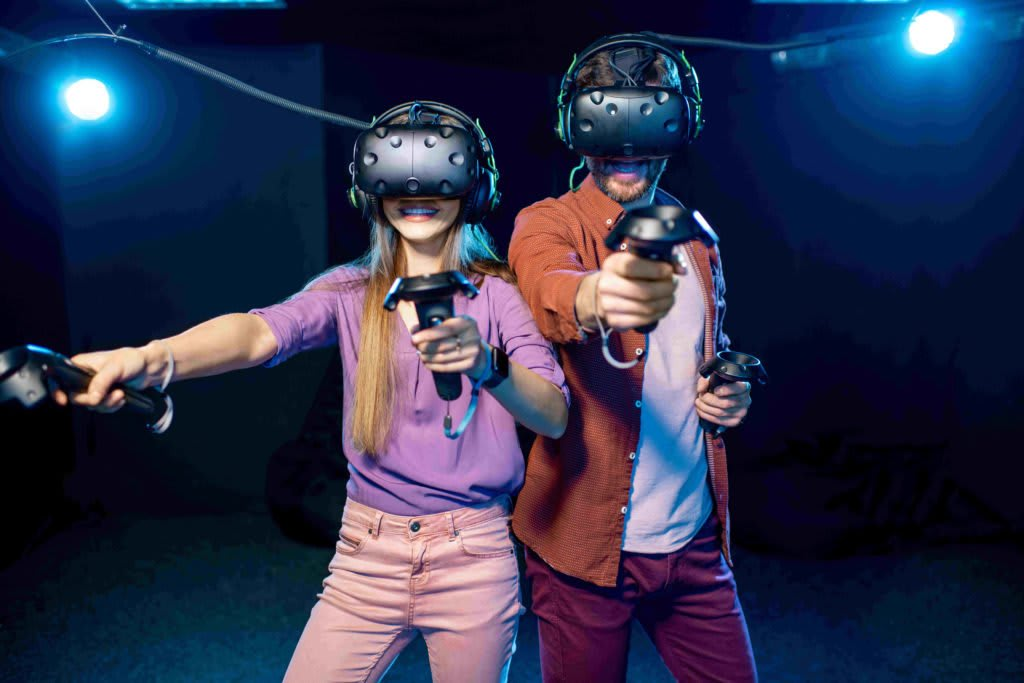 Virtual Reality Group Combat Game, Single Admission - Sydney