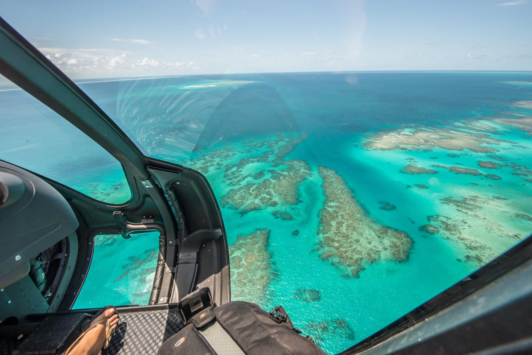 Great Barrier Reef Helicopter Flight, 30 Minutes - Port Douglas