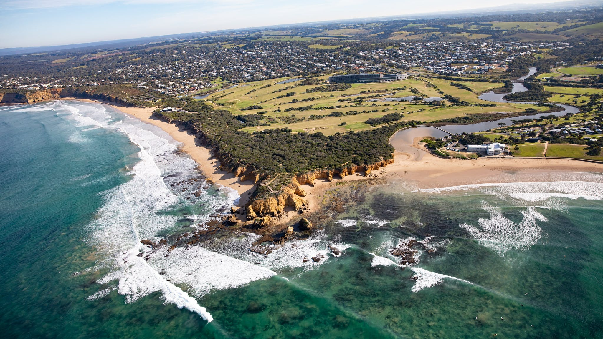 Mornington Peninsula Helicopter Flight, 45 Minutes - Geelong - For 2