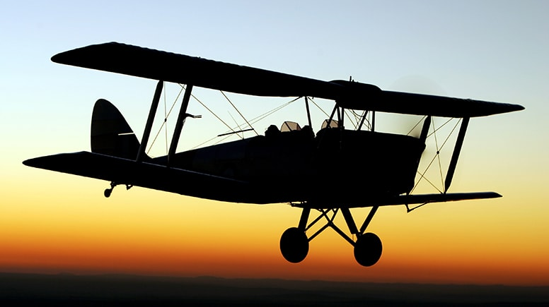 Tiger Moth Aerobatics Flight, 25 Minutes - Point Cook, Melbourne