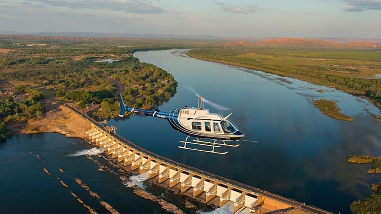 Crocodile Spotting Helicopter Flight - Kimberley Region, WA