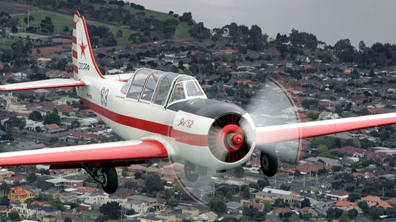 Warbird Aerobatic Flight, 15 Minutes - Point Cook, Melbourne