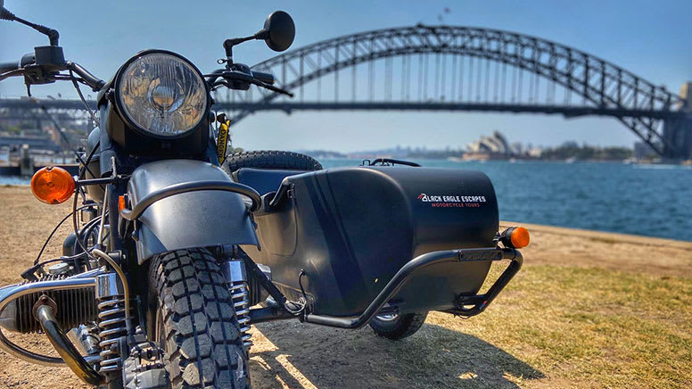 Private Sidecar Tour, 2.5 Hours - Sydney CBD - For 2