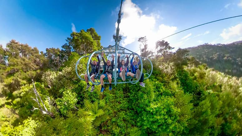 Skywire Flying Fox Experience - Nelson, New Zealand