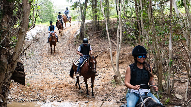 Horse Riding & ATV Tour with Petting Zoo Entry - Cairns