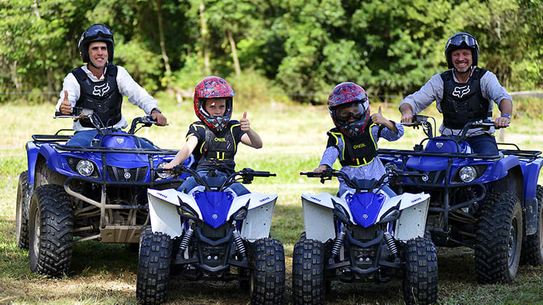 ATV Tour with Petting Zoo Entry - Cairns