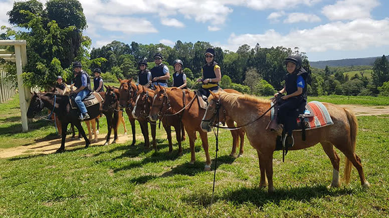Horse Riding Tour with Petting Zoo Entry - Cairns