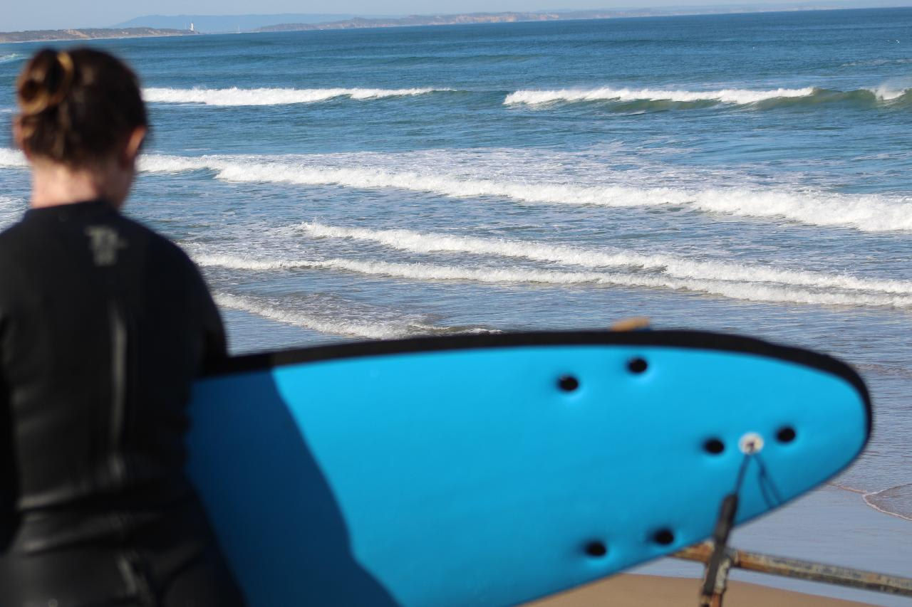 Surf Lesson & Snorkel with Dolphins Tour - Queenscliff, Geelong