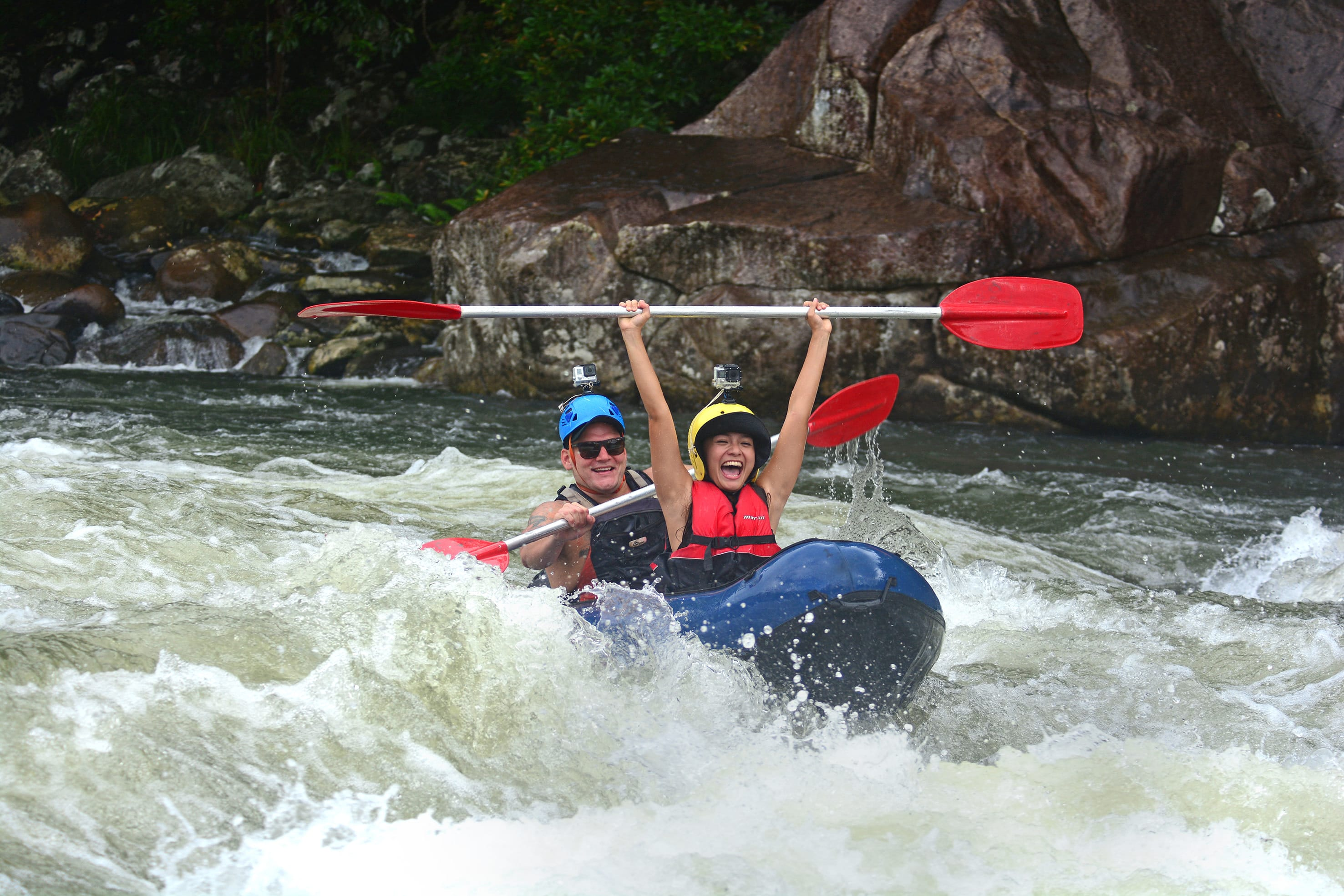 White Water Rafting on the Tully River, Half Day - Far North Queensland