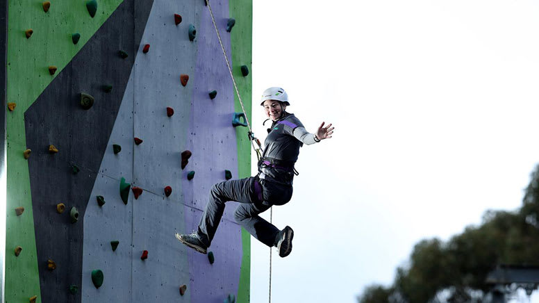 Rock Climbing, Abseiling and Zipline Adventure - Adelaide