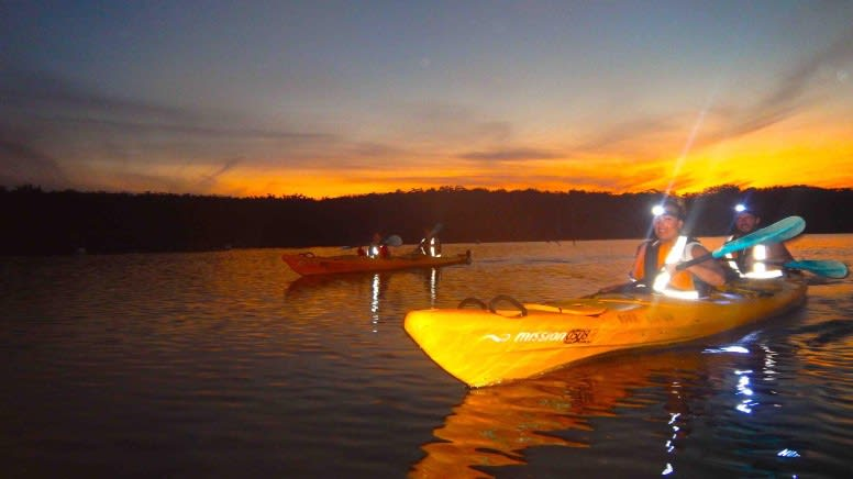 Moonlight Kayak Tour, 2 Hours - Batemans Bay