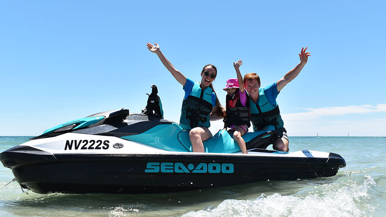 Jet Ski Adventure, 90 Minutes - West Beach, Adelaide - For 2