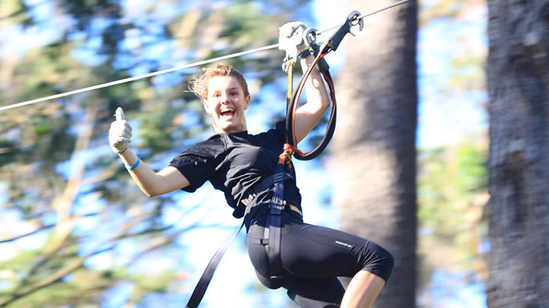 Forest High Ropes and Ziplining Adventure - Christchurch