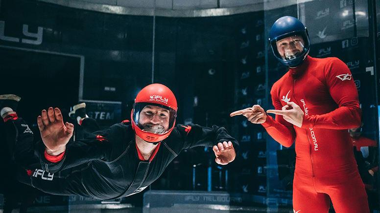 iFLY Melbourne Indoor Skydiving - 2 Flights - Midweek