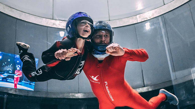 iFLY Melbourne Indoor Skydiving - 2 Flights - Weekend