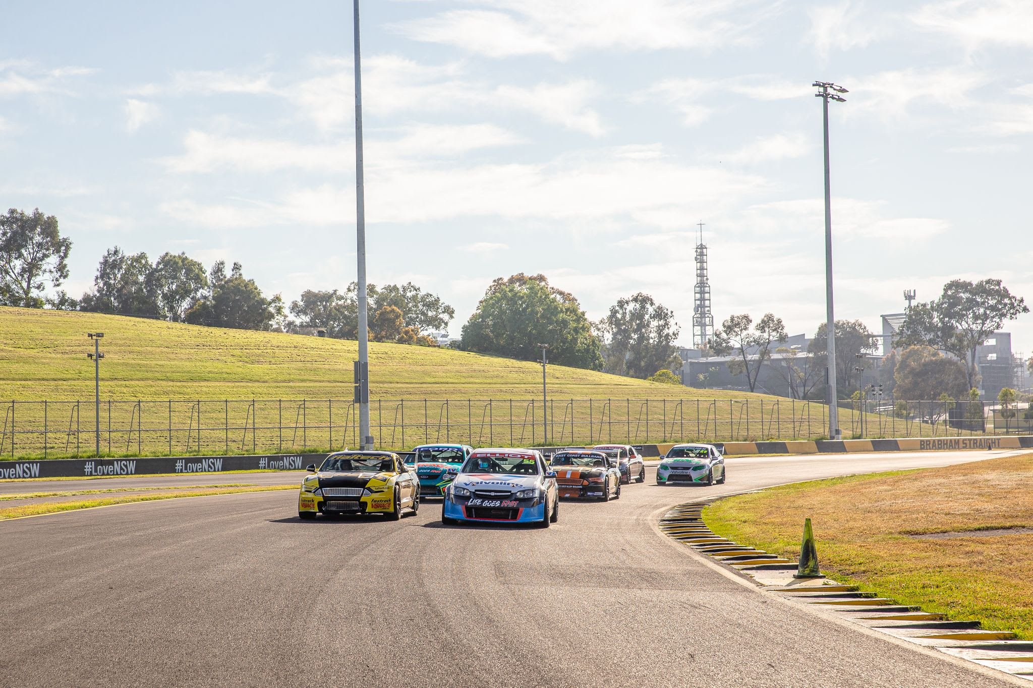 V8 Race Car 6 Lap Drive - Barbagallo, Perth