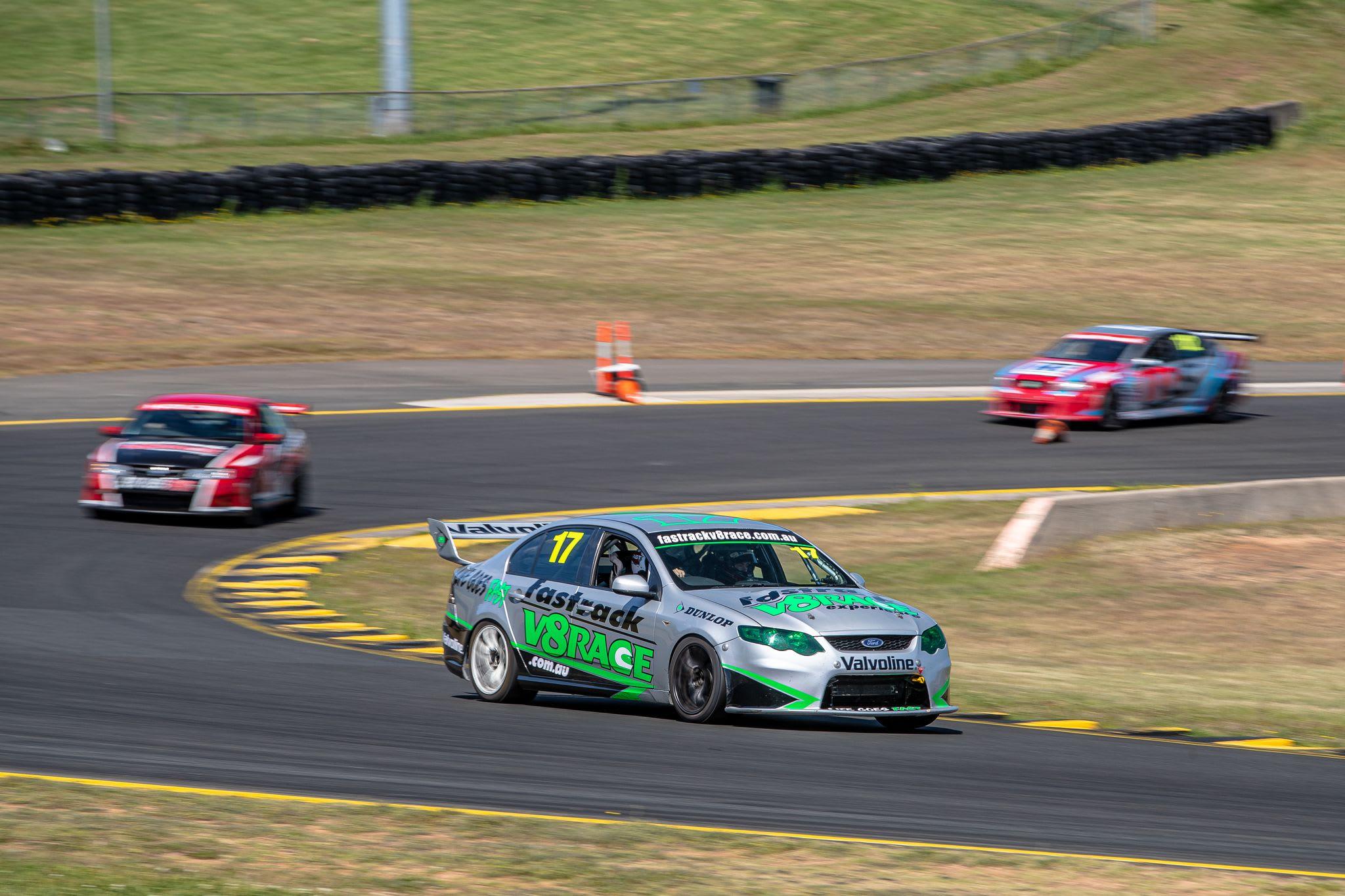 V8 Race Car 6 Lap Drive - Hidden Valley, Darwin