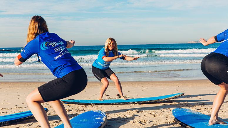 Beginner Surf Lesson, 2 Hours - Lennox Head