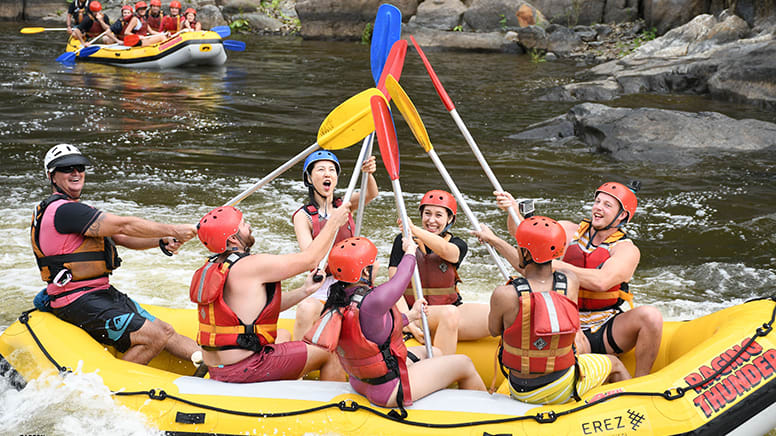 White Water Rafting Adventure, 2 Hours - Barron River, Cairns