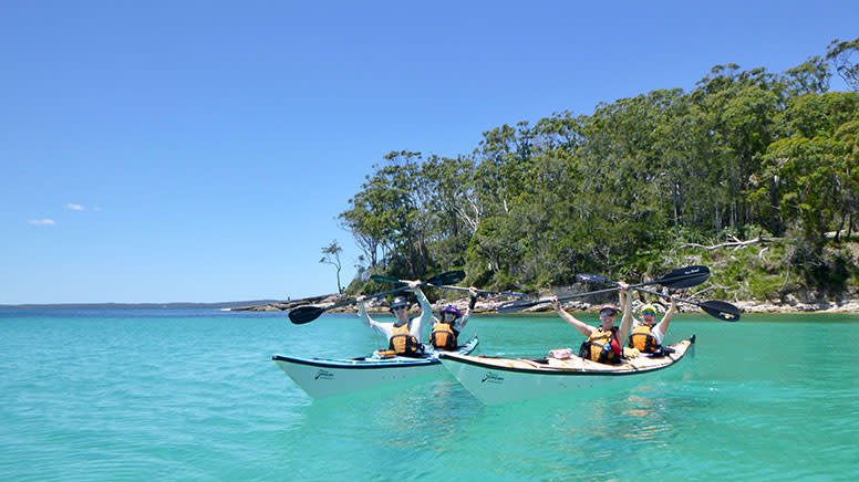 Full Day Double Kayak Self-Guided Tour - Jervis Bay