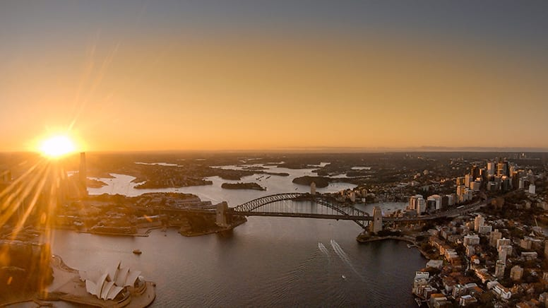 Private Sunset Helicopter Flight, 30 Minutes - Sydney - For up to 3