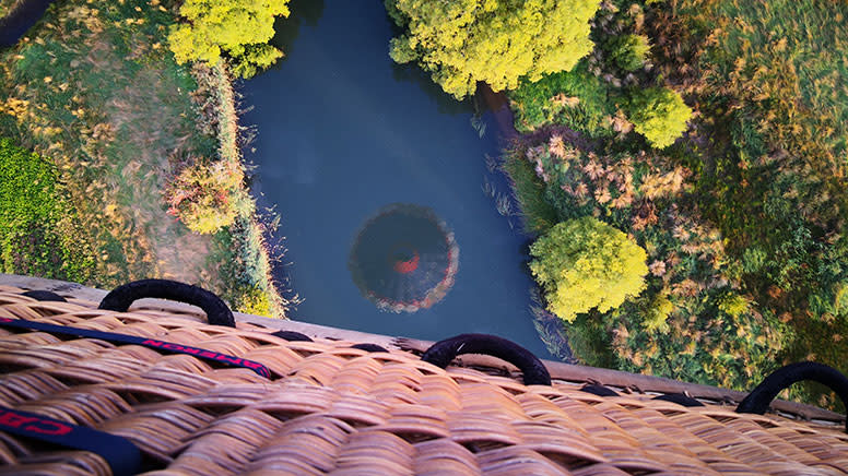 Avon Valley Hot Air Balloon Flight with Transfer, Weekend - Northam, Perth