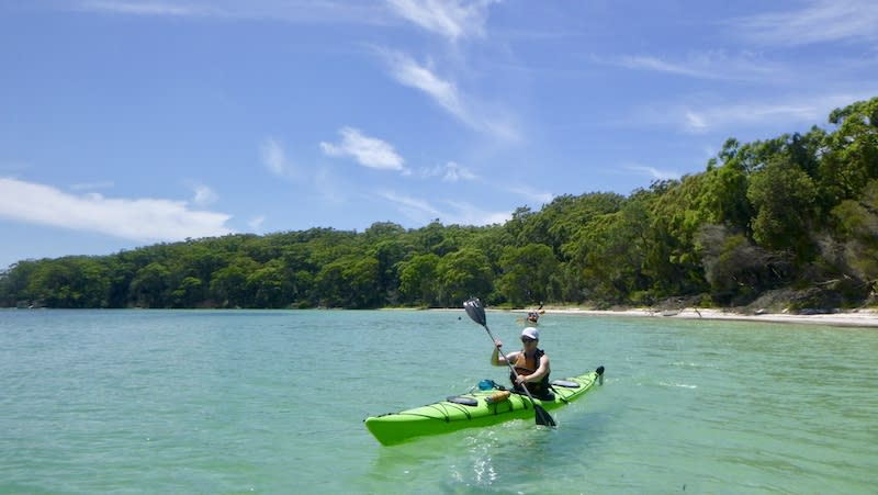 Full Day Single Kayak Self-Guided Tour - Jervis Bay