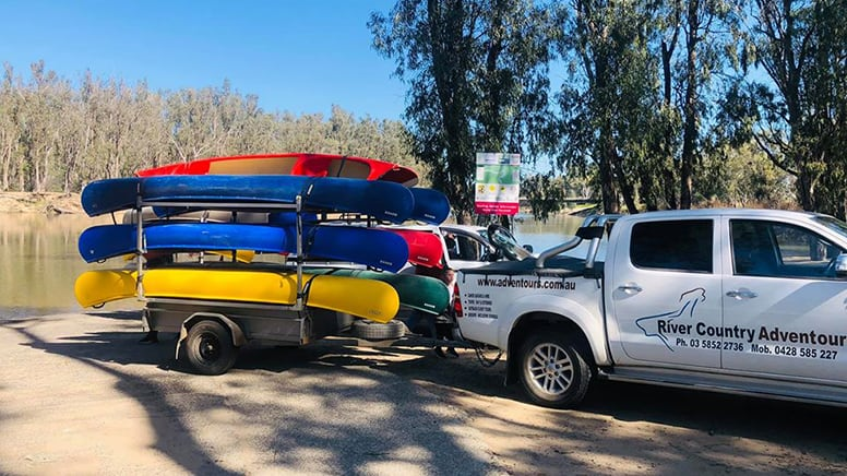 Goulburn River Kayak and Camping Trip, 2 Days - Wyuna