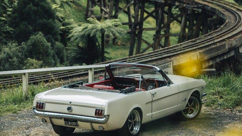 1965 Ford Mustang Convertible Car Hire, Full Day, Weekend – Moorabbin