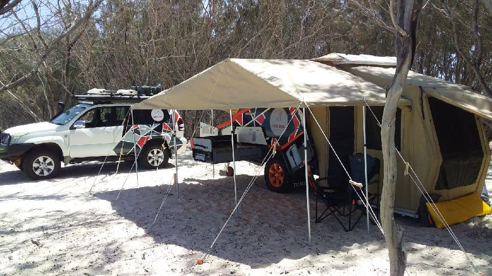 Tvan Camper Trailer Hire, 2 Nights - Brisbane - For 2