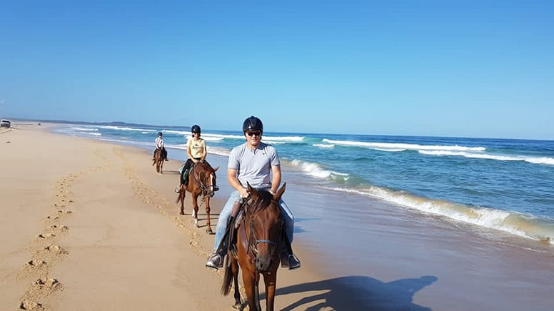 Bush & Beach Horse Ride, 2 Hours - Forster, NSW - For 2