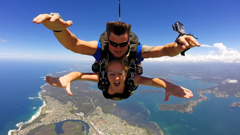 Tandem Skydive up to 15,000ft - Newcastle Beach