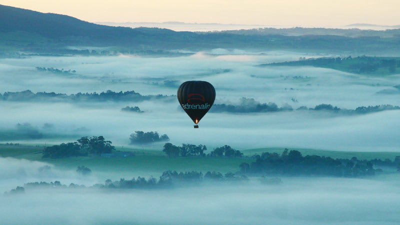 Hot Air Balloon Flight - Yarra Valley, Melbourne