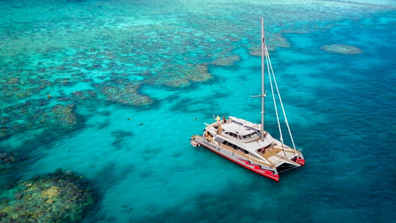 Great Barrier Reef Full Day Catamaran Sailing & Snorkel Tour - Cairns