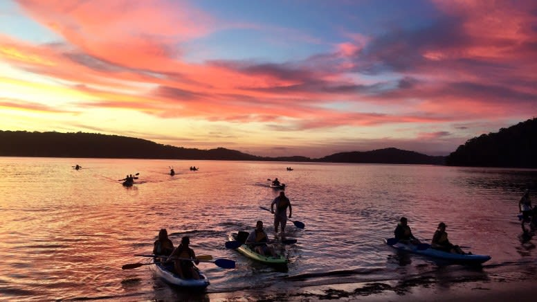 Sunrise Kayak & Bushwalk Adventure, 2 Hours - Sydney