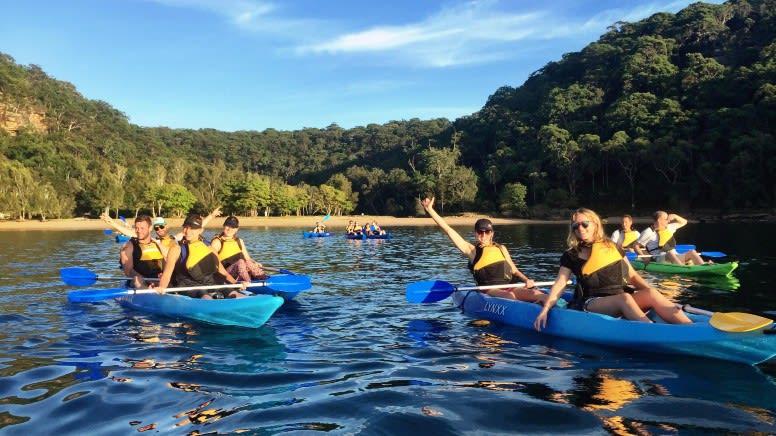 Sunrise Kayak & Bushwalk Adventure, 2 Hours - Sydney
