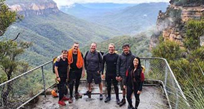 Half-day canyoning - The Blue Mountains