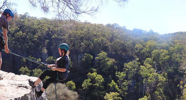Abseiling and Canyoning