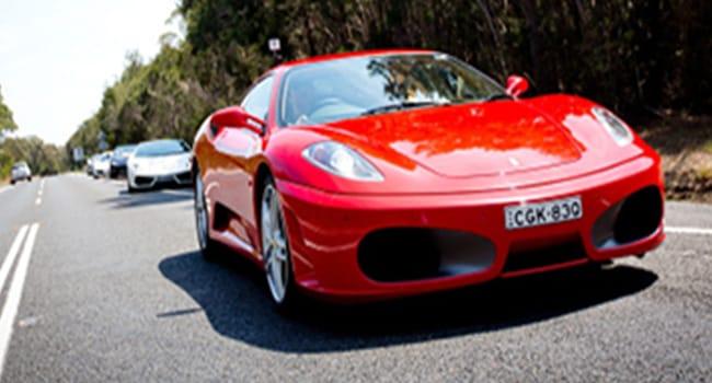 Ferrari or Lamborghini drive Sydney